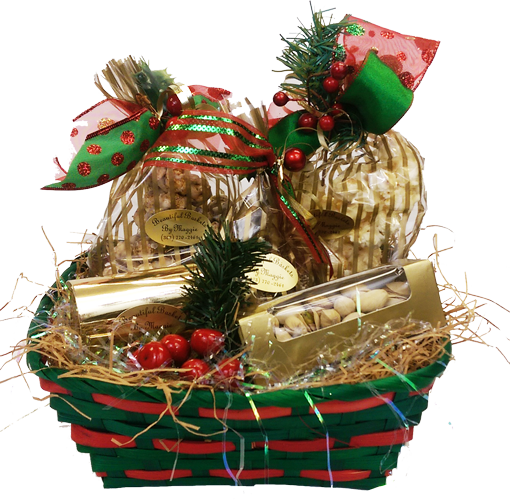 Holly Berry Basket