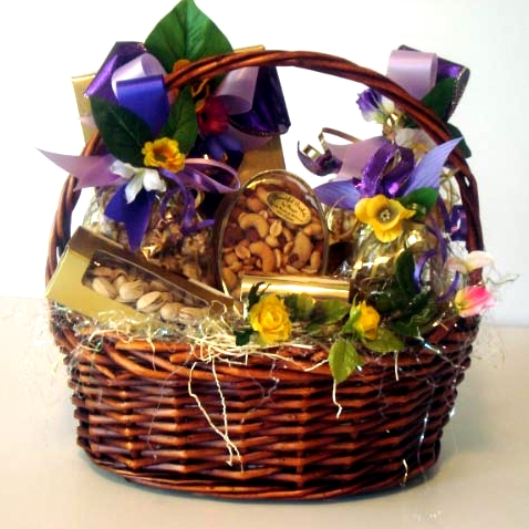 A colorful gift basket for a great friendship